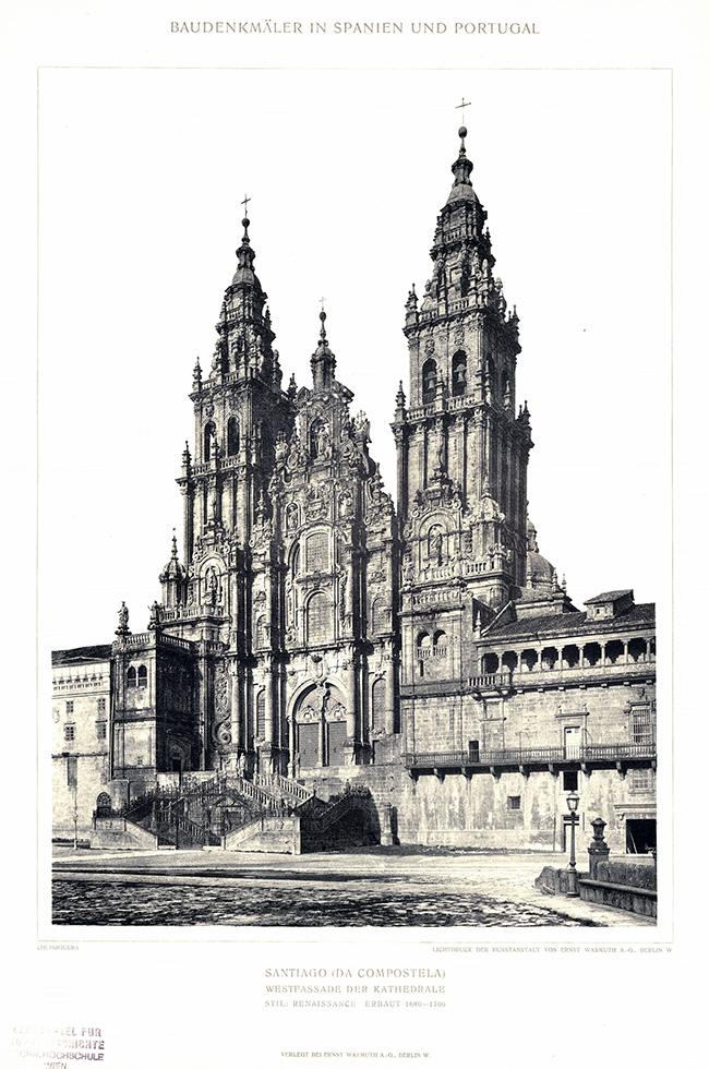 La cathédrale de Saint-Jacques-de-Compostelle, Phototypie 1889
