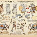 Jeu Jeanne d'Arc de 1918 à imprimer
