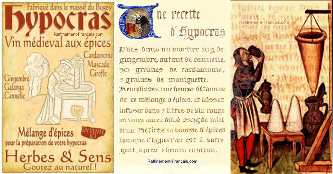 L'Hypocras, vin médiéval aux moultes épices