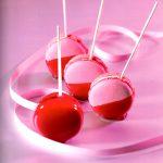 Macarons en pomme d'amour